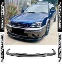 Subaru Outback Wagon H6 AWD STI Universal Front Bumper Lip Spoiler 2GEN WRX
