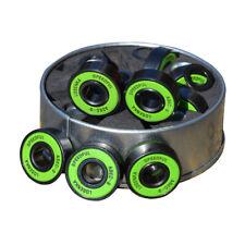 High Speed Longboard Skateboard Black Wheels with  Abec 9 Bearings Spacers