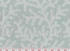 Coastal Favorite! Aqua Drapery Upholstery Fabric by P Kaufmann Seafan CL Spa
