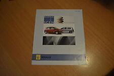 DEPLIANT Renault Scénic Exception de 2006