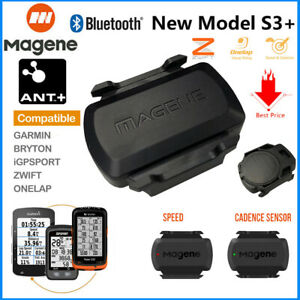 MAGENE ANT+ Bluetooth Bike Speed & Cadence Sensor for Garmin iGPSPORT Bryton HOT