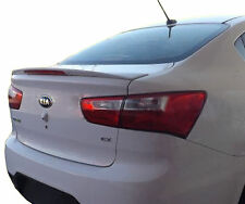 UNPAINTED REAR WING SPOILER FOR A KIA RIO 4-DOOR FACTORY STYLE 2013-2017