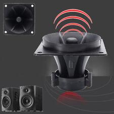 Piezo Horn Speaker Tweeter HiFi Sound Audio Black 85MM X 85MM X 70MM
