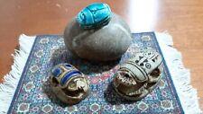 ancient scarab egyptian 3 pcs.