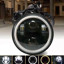 "5.75"" in LED Headlight Black For Suzuki Marauder VZ 800 1600 Savage LS 650 Hi-Lo"