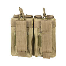NcStar TAN Double AR Style 5.56/223 or 7.62x39 & 2 Double Stack Pistol Mags