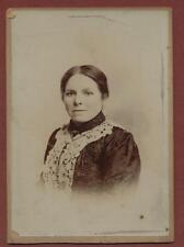 Lady from  'Smithard' collection cabinet photograph  qp.1031