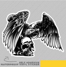 Eagle Skull Vinyle Sticker Autocollant Fenêtre Voiture Van Vélo 2682