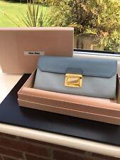 100% Authentic Prada/Miu Miu Two Tone Blue Purse *LOOK + Read Description*