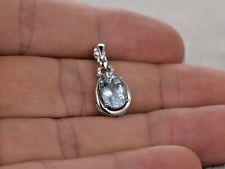 1.50ct 14k White Gold Diamond Flower Pendant