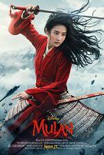 Mulan movie poster (b)  - 11 x 17 inches - Mulan poster (2020)
