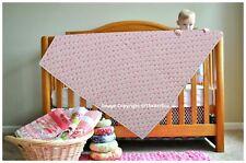 Ethnic Hand Block Print Baby Quilt Soft Cotton Baby Blanket Nursery Gudari Throw
