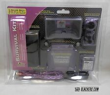 Game Boy Color accessory kit. A/C Adapter, light magnifer, battery & more