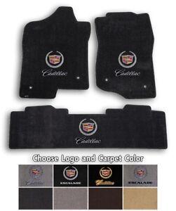 Cadillac Escalade EXT 3pc Classic Loop Carpet Floor Mats - Choose Color & Logo