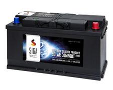 SIGA SOLAR Comfort 120Ah 12V Solar Batterie Versorgungsbatterie Wohnmobil 100Ah
