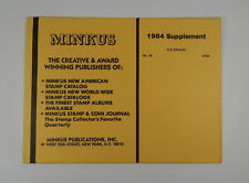 Minkus United Nations No. 29 1984 Supplement Singles Stamp Album Pages
