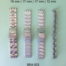 SWATCH IRONY BRACELETS BANDS STRAPS ORIGINAL VINTAGE - LOT OF 4 - BRA003