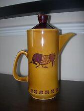 La ROYAL WORCESTER Group Palissy Inghilterra fondata nel 1853 il tè caffettiera Brocca elegante