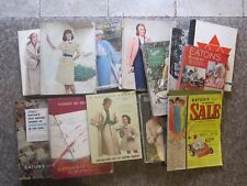 1946-1973 Eaton's, Simpson's Sears, Gault's Catalogs. BUY ONE YOUR CHOICE!