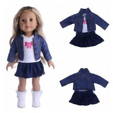 Our Generation My Life Doll Outfit Dress Jeans Clothes for 18' American Girl