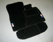 BMW 5 Series F10/F11 (2010-2017) Car Mats in Black + M Sport Logos (x2)