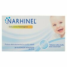 Narhinel Soluzione Fisiologica - Pacco da 20 X 100 Ml