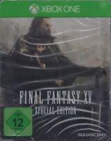 Final Fantasy XV - Special Edition Steelbook - für Microsoft Xbox One Neu & OVP