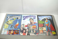 SUPERMAN 3 X Album  Der Film 1 2 3  Ehapa Z : 2  (MF7)