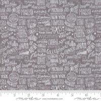 Moda Quilt Fabric Metropolis Stately Primer by BasicGrey by half-yard #30561 16