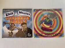 2 New Dvd Skateboard Organika Concrete Jungle / Creation Soul Harmonics Watson