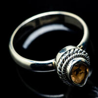 Citrine 925 Sterling Silver Ring Size 8 Ana Co Jewelry R22957F