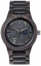 Limited Release WeWood Oblivio Black Blue Natural Wood Wooden Watch Blackwood