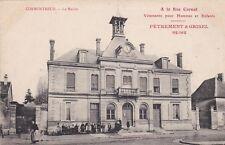 CPA 51 CORMONTREUIL La Mairie ( pub PETREMENT & GRISEL REIMS) a la Rue Carnot