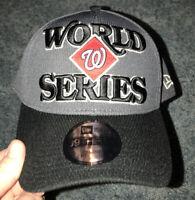 NWT Mens MLB World Series Champions WASHINGTON NATIONALS Hat New Era 39THIRTY