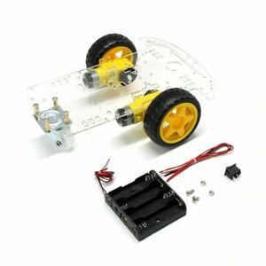 Dettagli su   Car robot KIT 2 ruote - chassis arduino 2WD