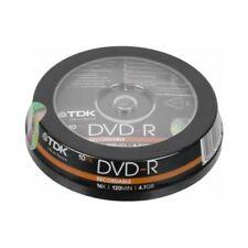 DVD-R TDK per l'archiviazione di dati informatici 16x
