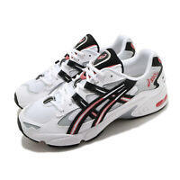 Asics Gel-Kayano 5 OG White Black Red Men Casual Sportstyle Shoes 1191A176-101