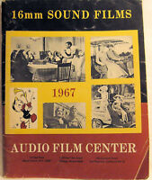 16mm SOUND FILMS 1967 AUDIO FILM CENTER Scarce Vintage  Movie Movies Catalog!