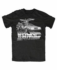 DeLorean M3 T-Shirt Schwarz ,Back to the future,Timemachine,Doc,Mc Fly,Kult,Fun
