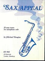 Michael Douglas - SAX APPEAL - 20 leichte Stücke für Saxophone solo