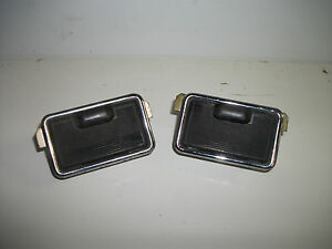 PAIR OF TRIUMPH MK1 2000 2.5PI DOLOMITE REAR DOOR MOUNTED ASHTRAYS IN EXC COND