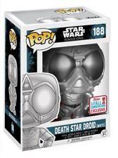 Funko POP !  Death Star Droid White NYCC 2017 - Star Wars - NEW!!!