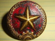 PITH HELMET - BADGE - NORTH VIETNAM ARMY - VIETNAM WAR - NVA - PAVN - COMMUNISTS