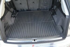 Rugged Rubber Boot Liner Cargo Trunk Mat Tailored for Audi Q7 4M 15-21 OEM Shape