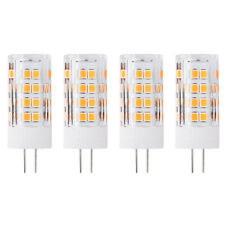 4 Pack G4 5W Led Bulb Equivalent 50W, 51 LEDs, 500LM,  AC/DC 12V, Non-Dimmable