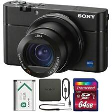 Sony Cyber-shot DSC-RX100 VA Digital Camera Black with 64GB Memory Card