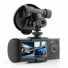 IN Stock R300 Dual Lens Dash Board Camera Car HD DVR Video Recorder +GPS Logger