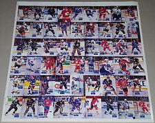 1994 Hockey Wit Uncut Sheet Set GORDIE HOWE Wayne Gretzky MARIO LEMIEUX SP /500