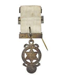Vintage Old Masons Masonic Royal Arch Sterling Silver Jewel Medal