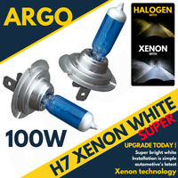 H7 100W XENON WHITE HEADLIGHT BULBS VAUXHALL VIVARO VAN